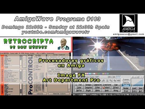 AmigaWave #163 - Juegos desde la Cripta, ImageFX y AdPro en Amiga
