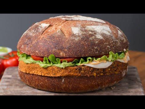 Giant Veggie Burger