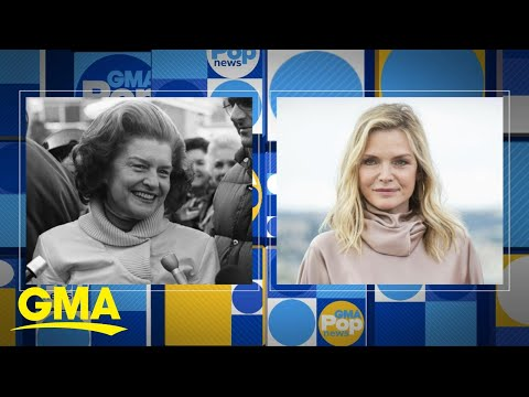 Michelle Pfeiffer to play Betty Ford in new TV series, 'The First Lady' | GMA