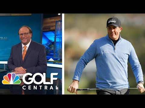 #MovingDay: Phil Mickelson (67) makes his move at Pebble Beach   Golf Central   Golf Channel