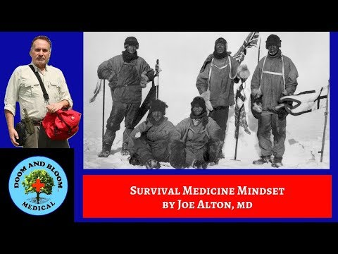 What a Realistic Survival Group Medic Mindset Should be