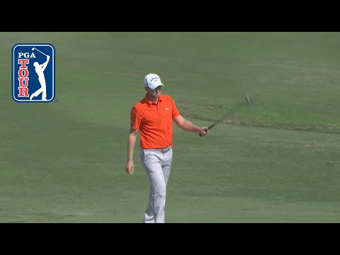 Daniel Berger rips off a 75-footer for eagle at Hero