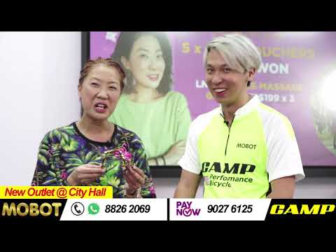 Patricia Mok 莫小玲 x MOBOT ebike x CAMP bicycle | Facebook Live 16042021