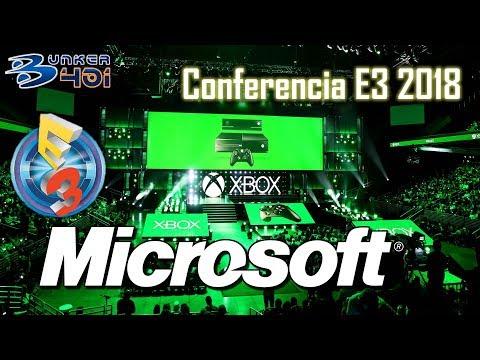 Conferencia Microsoft E3 2018 : Microsoft Streaming en directo
