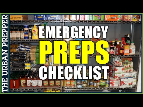 What Supplies To Refill Before An Emergency? | PDF Checklist