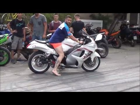 The Beauty of the Hayabusa motorcycles