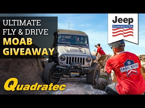 Quadratec Ultimate Fly & Drive Jeep Jamboree Giveaway!
