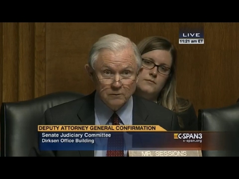 Jeff Sessions questioning Sally Yates foreshadows her firing