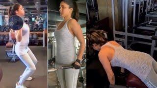 Actress Lavanya Tripathi Heavy Workout Video | Telugu Actress Lavanya Tripathi Workout Video - TFPC