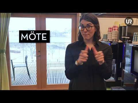 UR Teckenspråk - Teckenspråk på jobbet
