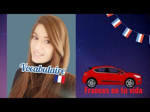 Vocabulaire de la voiture