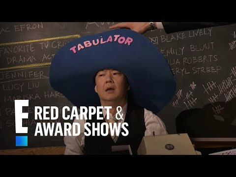 connectYoutube - People's Choice Awards host Joel McHale hires Ken Jeong to count votes