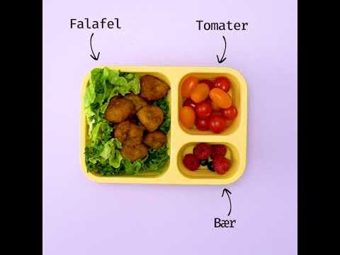 Matpakker - matglede på boks. Falafel.