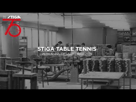 STIGA Table Tennis - 75th Anniversary