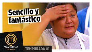 Una buena elección y un plato fantástico | MEJOR PLATO | TEMPORADA 1 | MASTERCHEF COLOMBIA