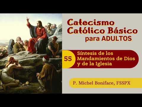 55 Sintesis de los mandamientos de Dios y de la Iglesia