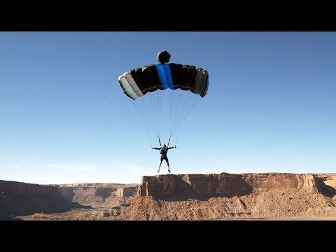 GoPro Awards: BASE Jumping with FPV Drone in 4K