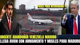 NICOLAS MADURO PIDIÓ AYUDA A UNO DE SUS ALIADOS - GUAIDO LLEGO LA HORA DEL 187 PARA VENEZUELA