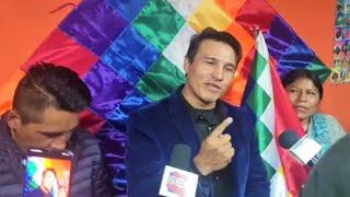 Periodista Pedro Gracia se reúne con organizaciones sociales, autoconvocados en El Alto - Bolivia