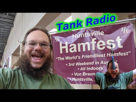 Tank Radio goes to Huntsville Hamfest