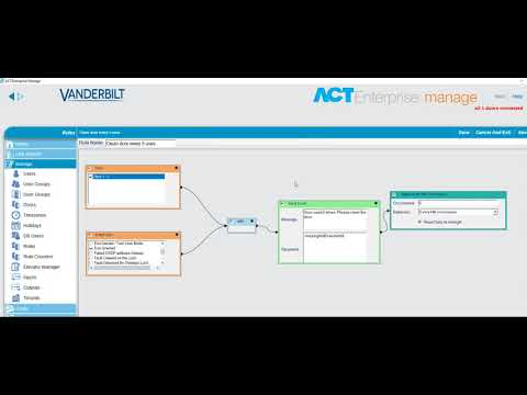 ACT Enterprise DEMO: Clean door after X uses (email rule)