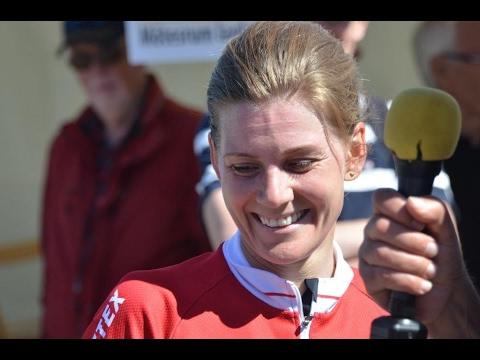 """OS-silvermedaljören Emma Johansson """"Ha kul på cykeln"""""""