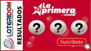 Lotería La Primera de Loto Dom Resultados de hoy 15 de Mayo del 2021