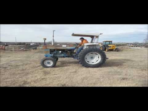 Ford 5600 tractor for sale | no-reserve Internet auction March 7, 2017
