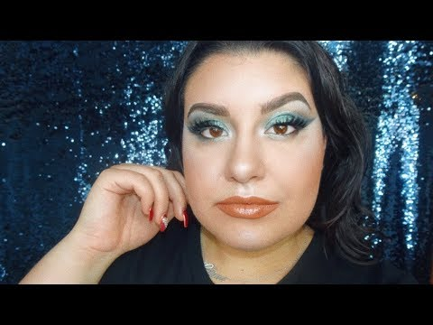 connectYoutube - MERMAID SEA BLUE GLAM - MORPHE 39A DARE TO CREATE PALETTE | Celina Pereira