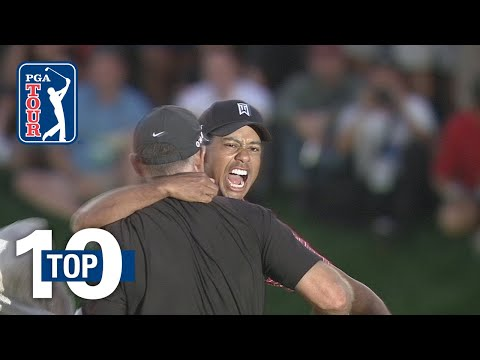 Tiger Woods? top 10 shots at Bay Hill