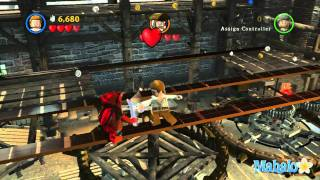 LEGO Pirates of the Caribbean Walkthrough - Curse of the Black Pearl Chapter 1 - Pt 1