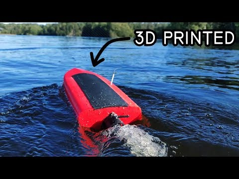 IT'S TOO POWERFUL - 3D Printed RC Boat