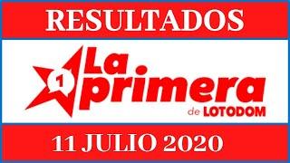 Resultados de la loteria La Primera de hoy 11 de julio del 2020