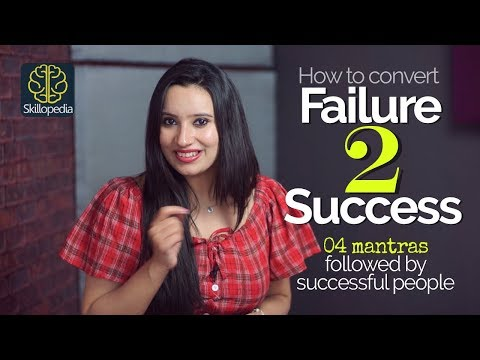 From Failure to Success in 4 simple steps | Motivational Video