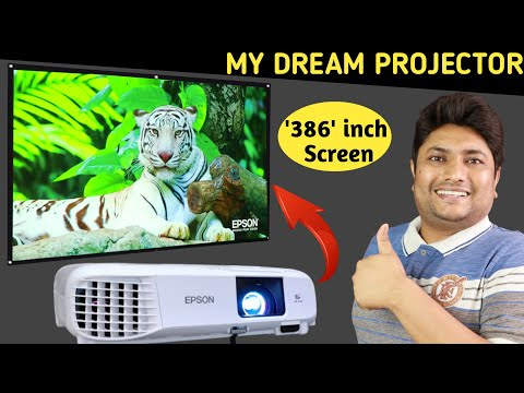 Best Projector 2021   Epson EH-TW740 Projector Review   Best Projector for Home Theater & Much More