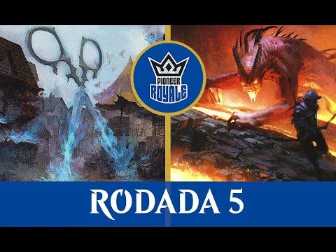 Izzet Ensoul VS Mono Red Prowess - Pioneer Royale 2.03 - Rodada 5