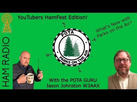 What's New with Parks on the Air with Jason Johnston W3AAX, the POTA guru! #ythf21