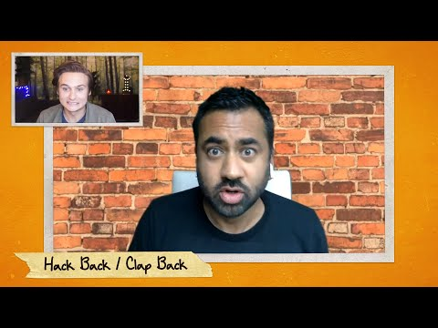 """Moses Storm & Kal Penn Play """"Hack Back / Clap Back"""" - Team Coco LIVE: Moses Storm & Friends"""