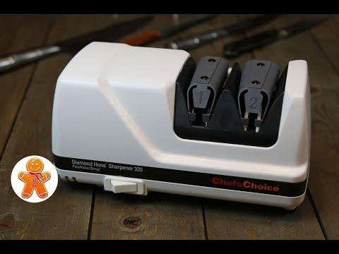 Конкурс-Розыгрыш и Обзор ✧ Электрическая точилка для ножей Chef'sChoice CH/320