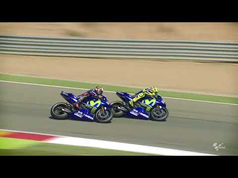 2017 #AragonGP - Yamaha in action