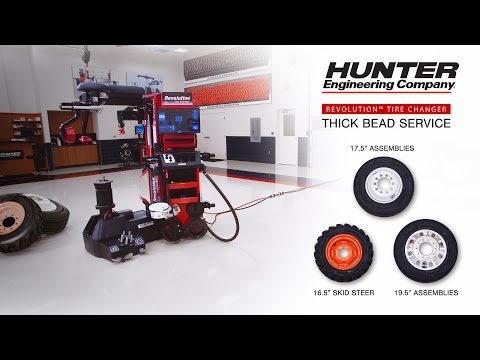 Revolution™ Tire Changer - Thick Bead Service
