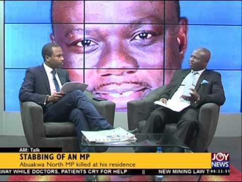 Stabbing of an Member of Parliament - AM Talk on Joy News (9-2-16)