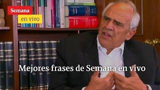 En entrevista con María Jimena Duzán, el expresidente Ernesto Samper