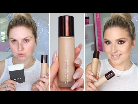 First Impression Review ? Becca Aqua Luminous Perfecting Foundation