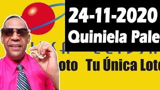 Resultados y Comentarios Quiniela Pale de Leidsa 24-11-2020 (CON JOSEPH TAVAREZ)