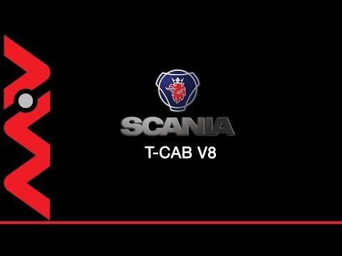 BU03ZVC Scania T Cab   Aerial 360
