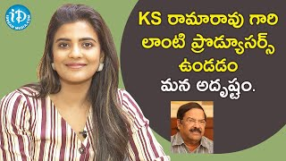 KS Rama is a sensible producer - Aishwarya Rajesh | Vijay Deverakonda | Talking Movies with iDream - IDREAMMOVIES