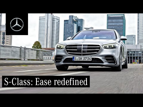Driving Comfort and Technology in the New S-Class