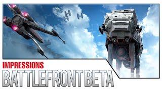 Star Wars Battlefront Beta Impressions