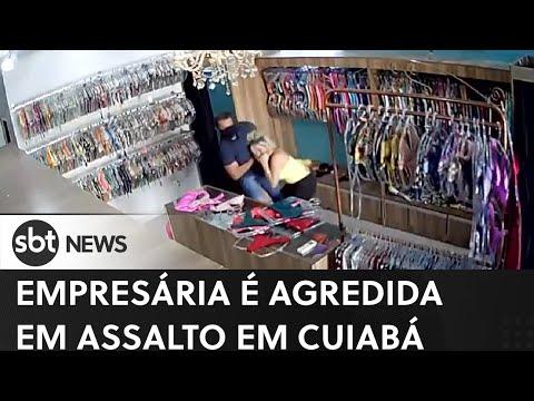 Empresária é agredida em assalto em Cuiabá